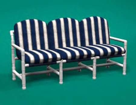 pvc patio furniture - interesting idea - kind'a fun