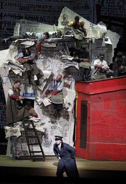 Le Nez / Dmitri Chostakovitch / William Kentridge
