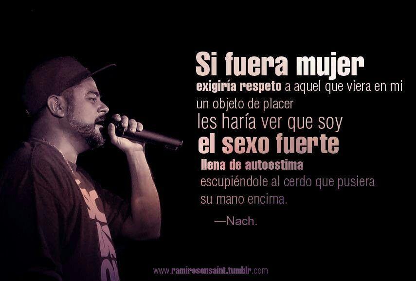 Frases Nach Frases Frases De Raperos Y Letras De Canciones
