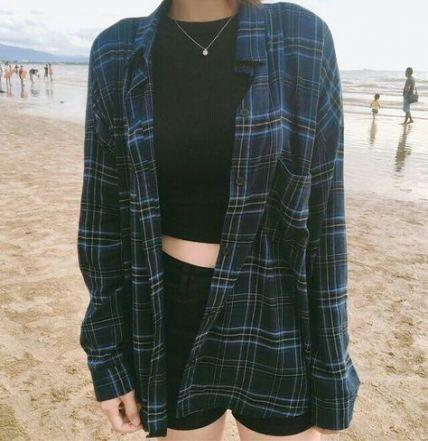 41 trendy fashion edgy grunge flannels - #fashion #flannels #grunge #trendy - #new -