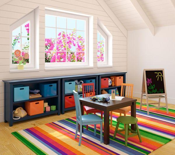 Lovely Kinderzimmer Dachschr ge Gestaltungsideen Viele Menschen wissen nicht was Sie aus einem Raum mit Dachschr ge machen sollen Sie haben Kinder die langsam