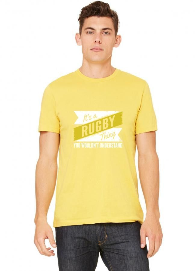 rugby thing wouldn't understand T-Shirt