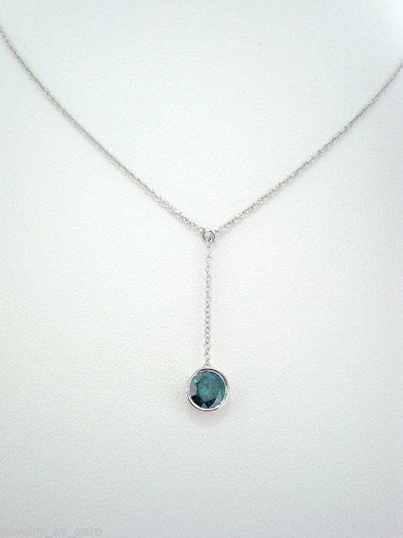 0 50 Carat Blue Diamond By The Yard Solitaire Pendant Diamond Etsy In 2020 Solitaire Pendant Necklace Blue Diamond Diamond Jewelry Designs
