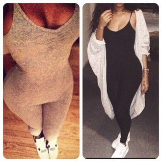 black bodysuit bodycon one piece sexy sexy bodysuit vue boutique jumpsuit  jacket coat cardagain pants grey clothes onesie bodysuit black grey  leggings black ... 878cde071