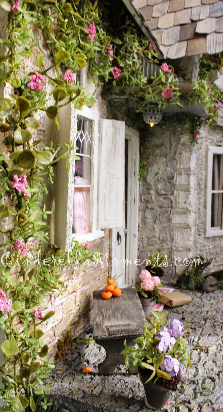 Wiltshire Cottage Dollhouse Dollhouse garden, Doll house