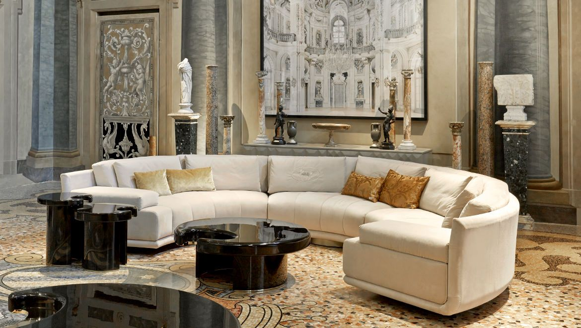 Artù Round Sectional Sofa  Living Room  Pinterest  Living Rooms Cool Interior Design Modern Living Room Decorating Design