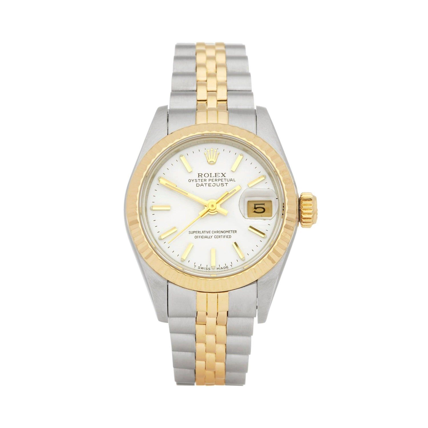 Rolex Datejust 26 Stainless Steel And Yellow Gold 69173 Rolex Datejust Rolex Watches Rolex