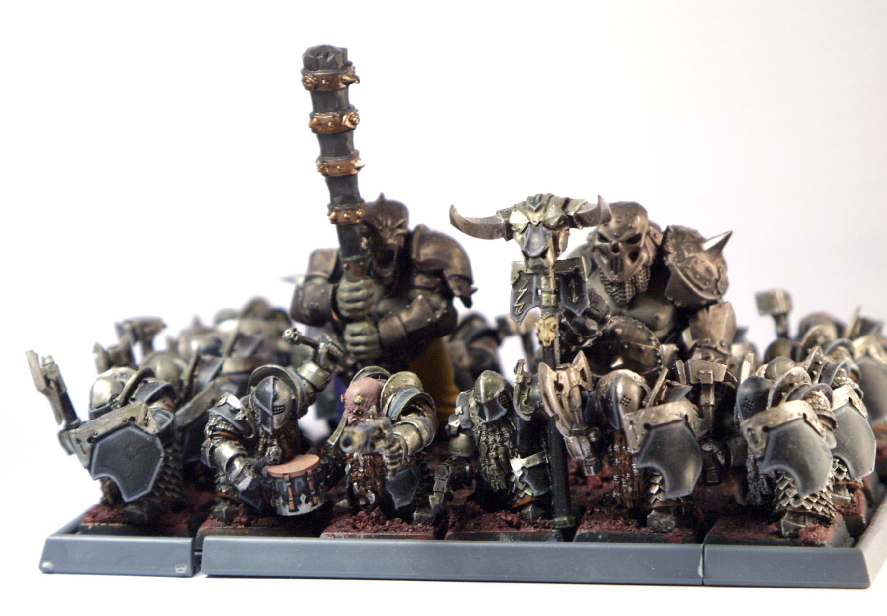 Chaos Dwarves from Warhammer fantasy