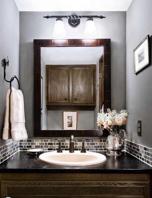 20 Creative Grey Bathroom Ideas To