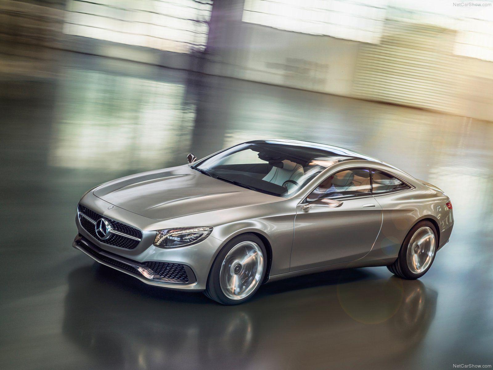 Mercedes-Benz S-Class Coupe Concept (2013)
