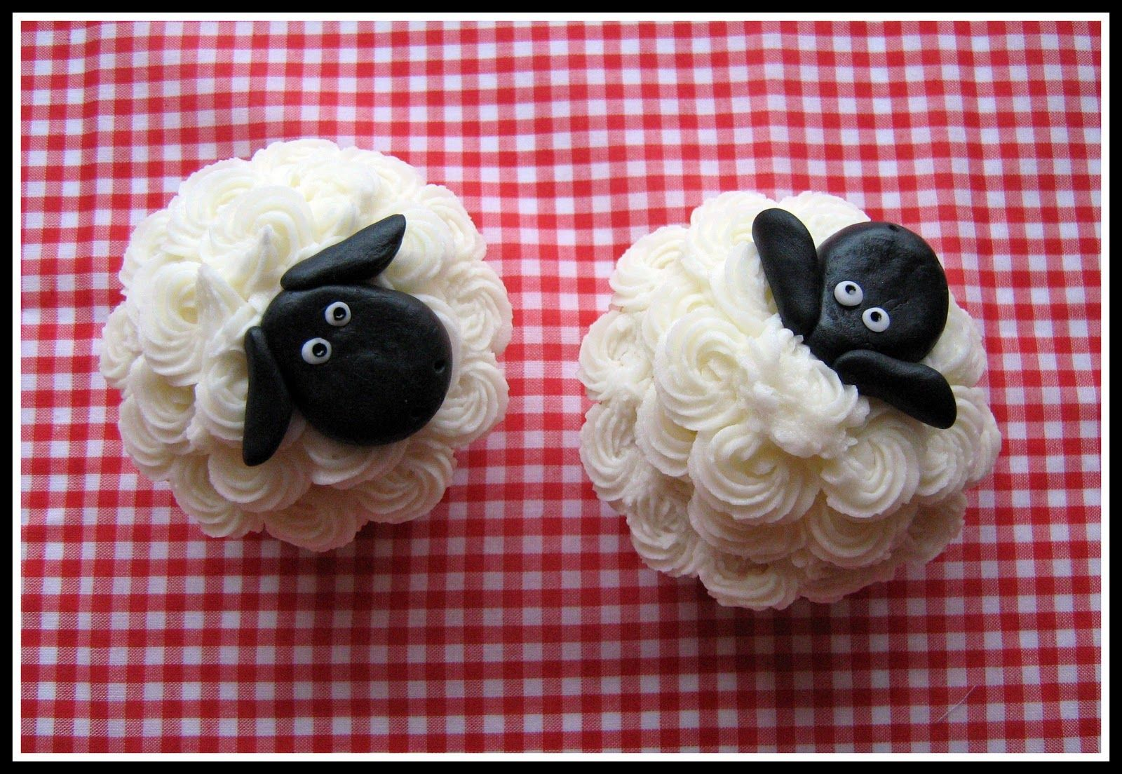 Fowl Single File: Not Baaaad for a Sheep Cake (and Cupcakes!)