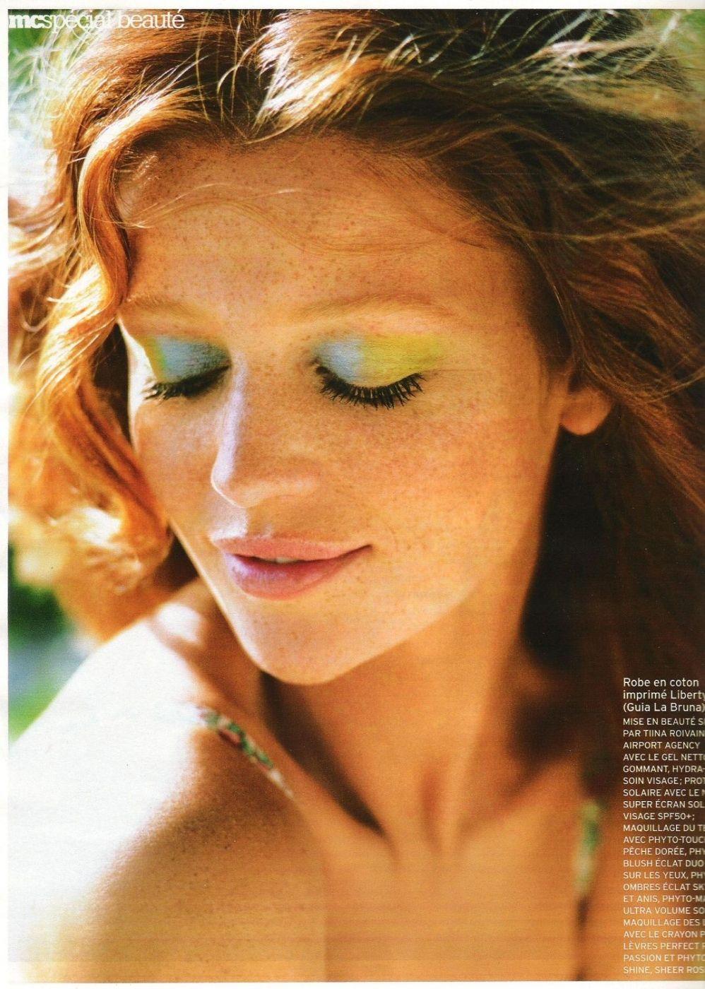 , two-tone eyes #makeup #model, Anja Rubik Blog, Anja Rubik Blog
