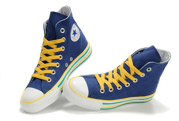 4d9fa88f8688 Converse-All-Star-Lines-OX-Blue-High-Top-Canvas-Shoes