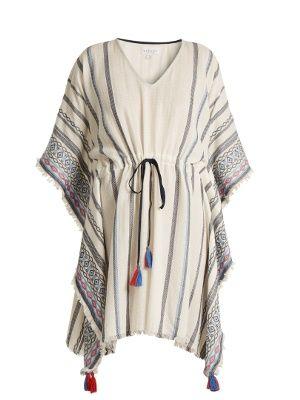 Adalina striped cotton dress | Velvet By Graham