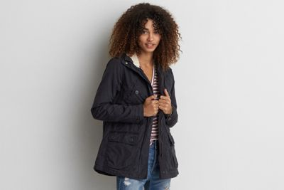 AEO Cotton Parka  by  American Eagle Outfitters | Cool outsider. Your outermost layer is designed for versatility and effortless cool.   Shop the AEO Cotton Parka  and check out more at AE.com.