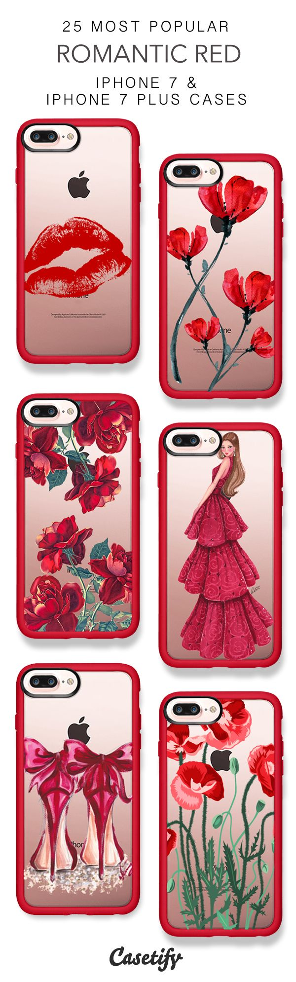 25 Most Popular Romantic Red Iphone 7 Cases And Iphone 7 Plus Cases More Red Iphone Case Here Https Www Ca Red Iphone Case Stylish Phone Case Iphone Cases