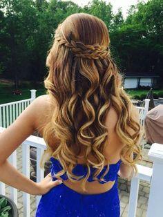 Peinado Elegante Para Prom Peinados Peinados De Fiesta