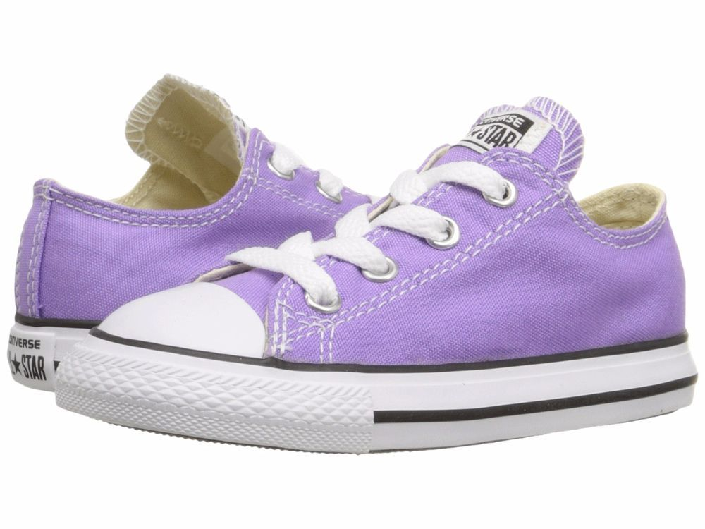 fe48b88c8bdfec Baby Girls  Shoes Converse Chuck Taylor Ox Casual Shoes Toddler Size 10  Lilac  Converse  CasualShoes