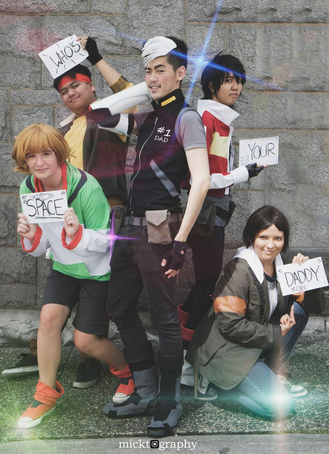 Voltron Squad Pics D Keith Me Aznotaku Cosplay Shiro Androoly