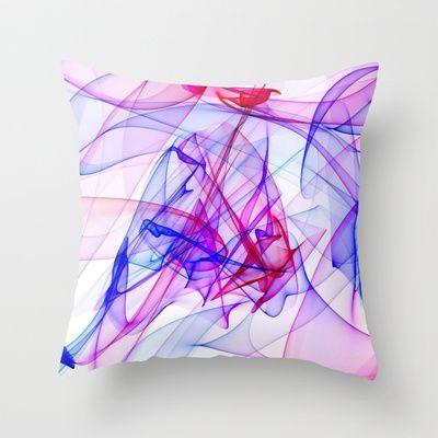 #Flame #Art, ABBY Throw #Pillow by MehrFarbeimLeben - $20.00
