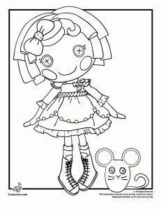 Lalaloopsy colouring pages | Lalaloopsy doll | Pinterest ...