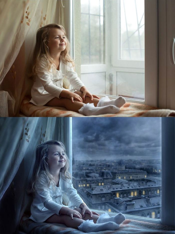 Before and after Photoshop images - 9