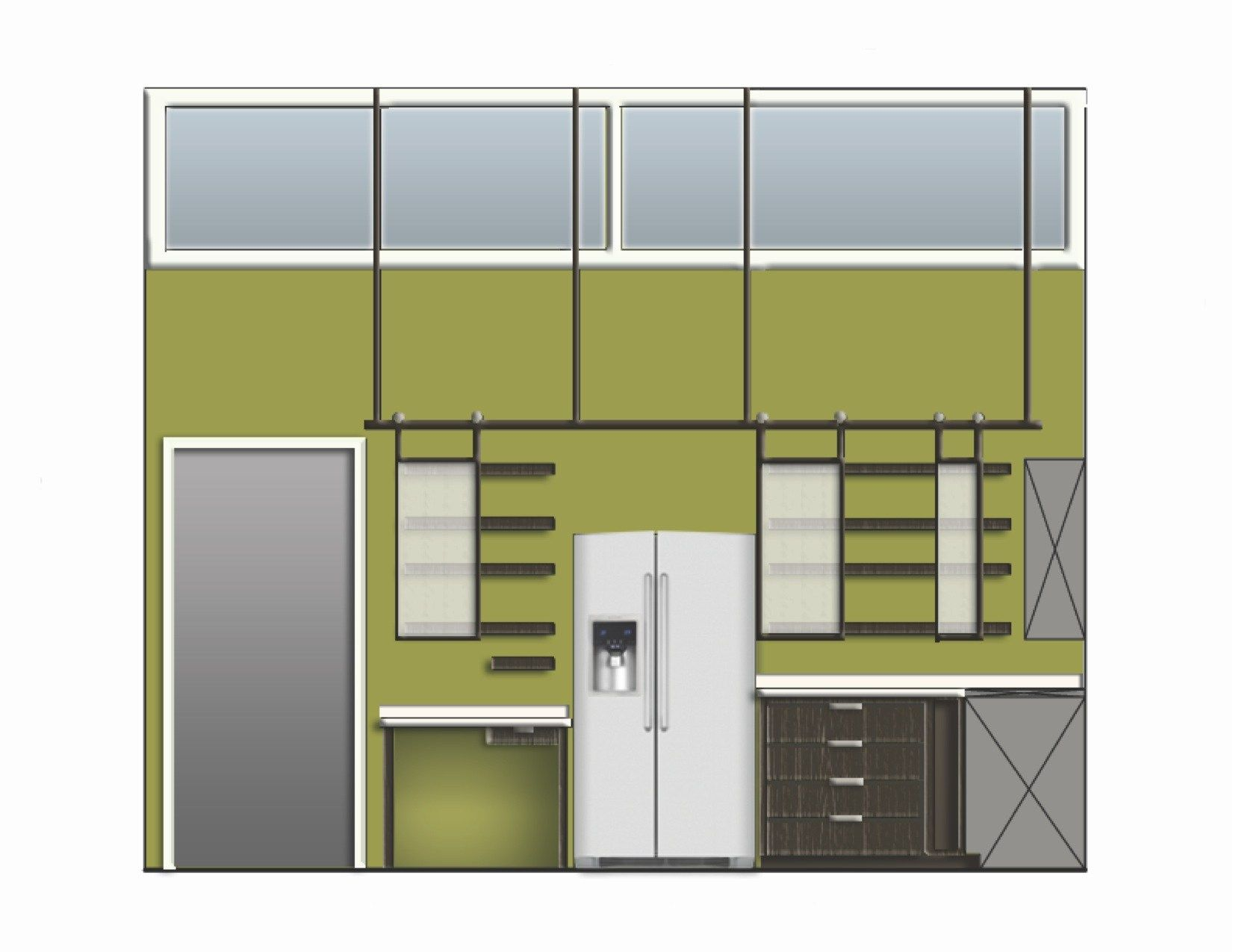 Super Cool Ideas Kitchen Elevation Rendered Photoshop My Creative Idolza Rendering Jpg 1651 1275 Kitchen Elevation Design Kitchen Design