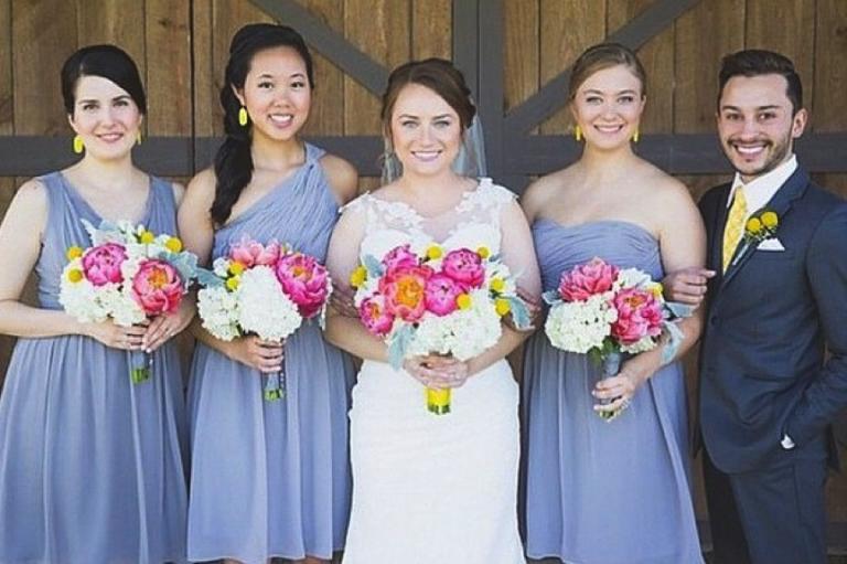 Mixed Gender Bridal Party Wedding Dresses Simple Bridal Party Bridal Parties Colors