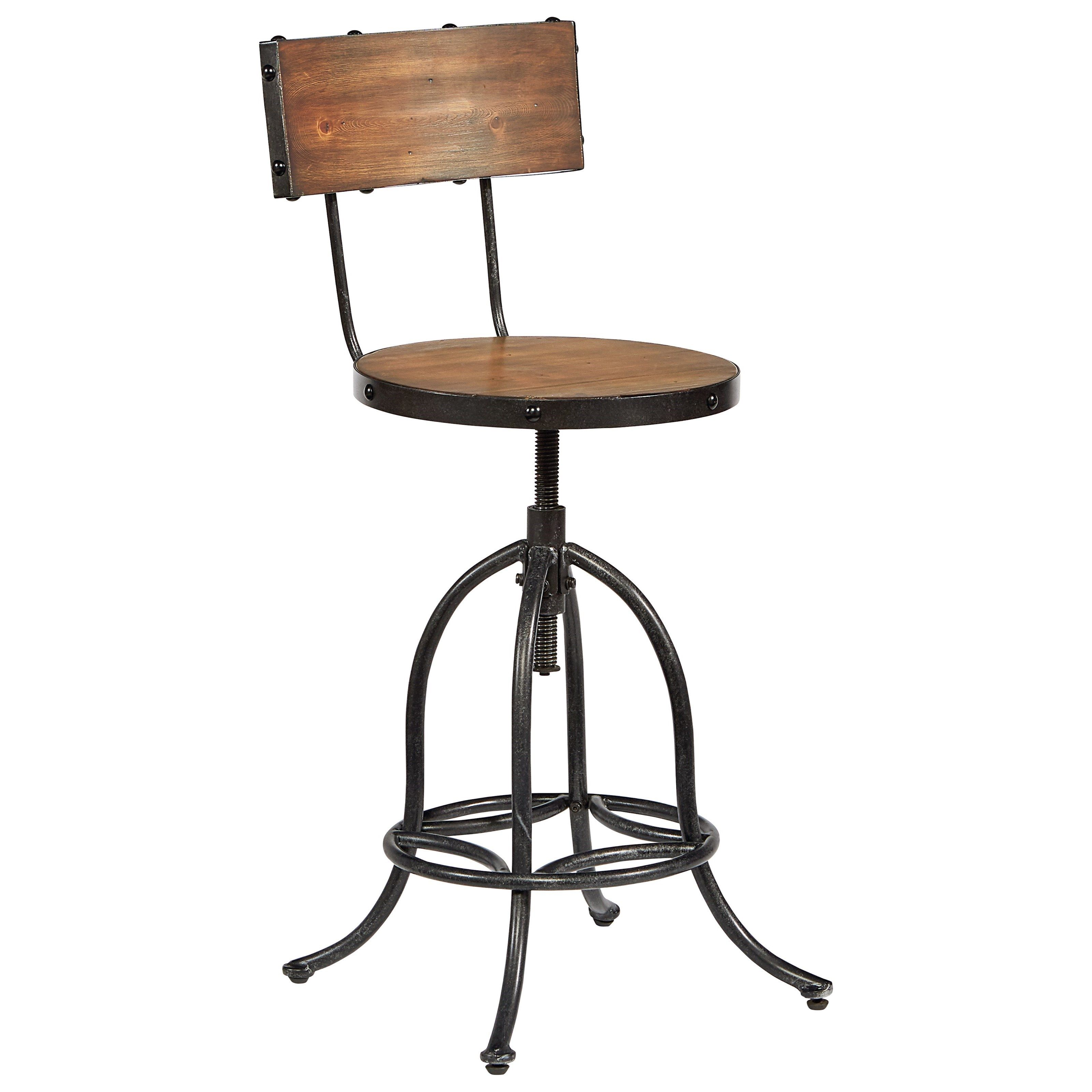 accent elements architect stool with bronze legs and wooden seat accent elements architect stool with bronze legs and wooden seat by magnolia home by joanna gaines