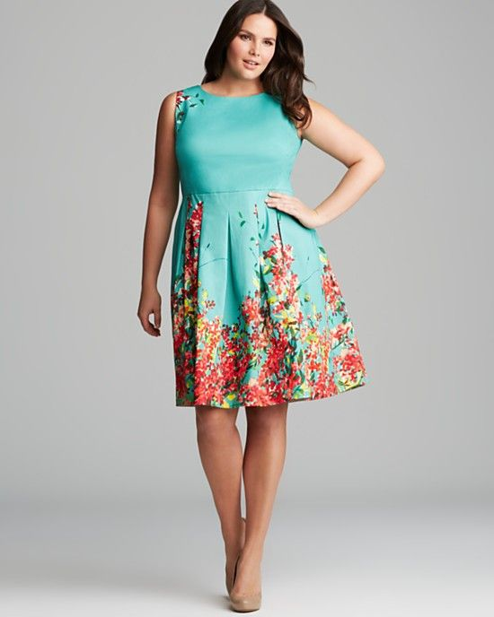 super colors | dresses | Plus size spring dresses, Plus size easter ...