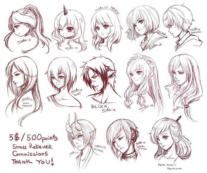 Изображение «How to draw anime •w•» от пользователя SoJu