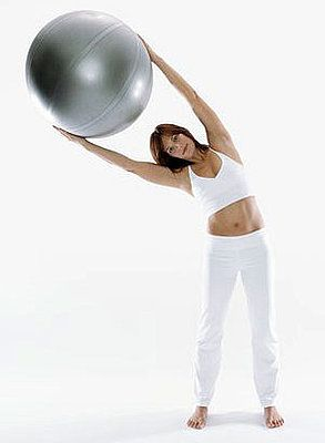 Get More Out of Your Workouts With an Exercise Ball #exerciseball
