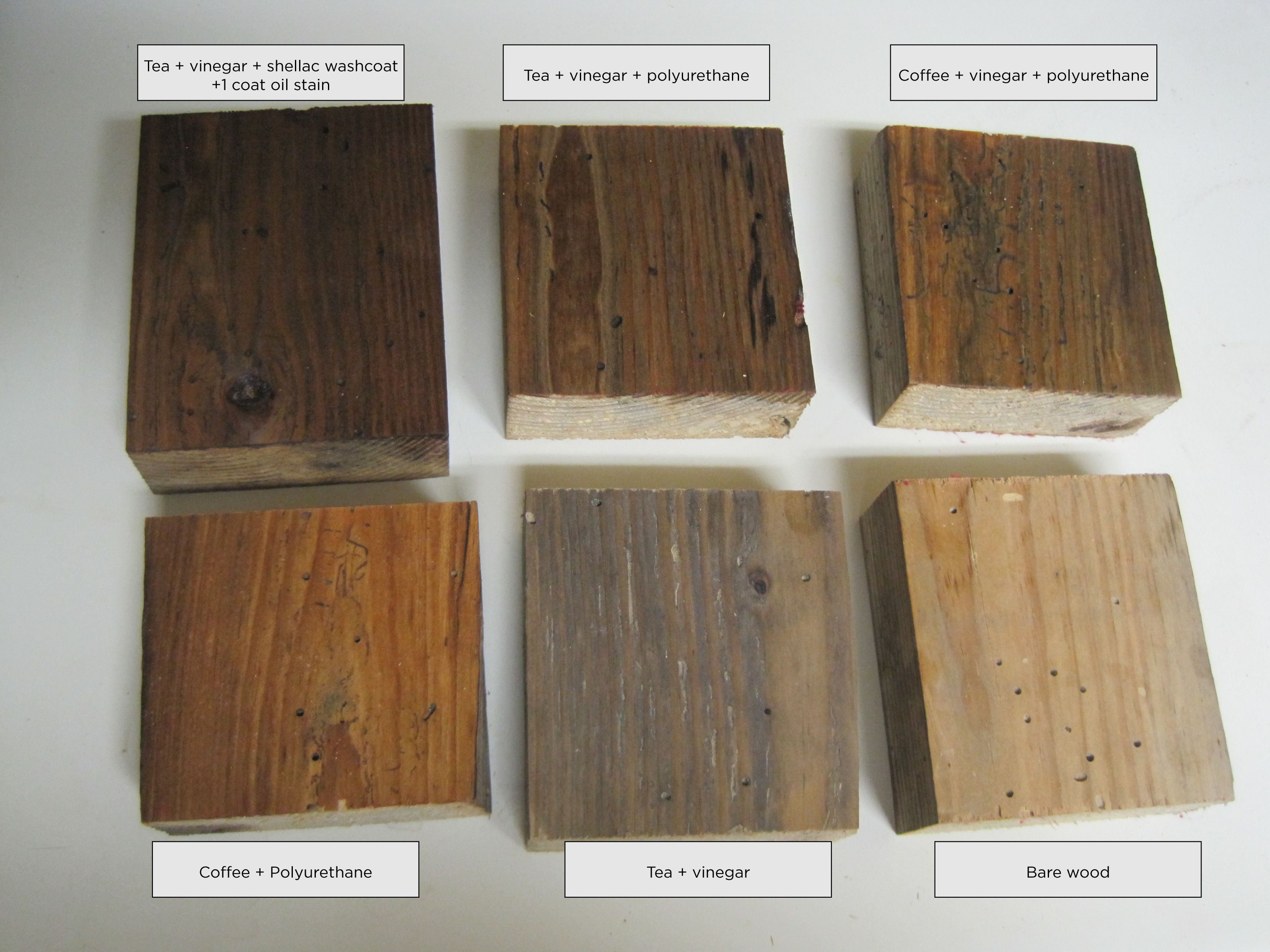 Different Techniques For Aging New Wood Painted Stained