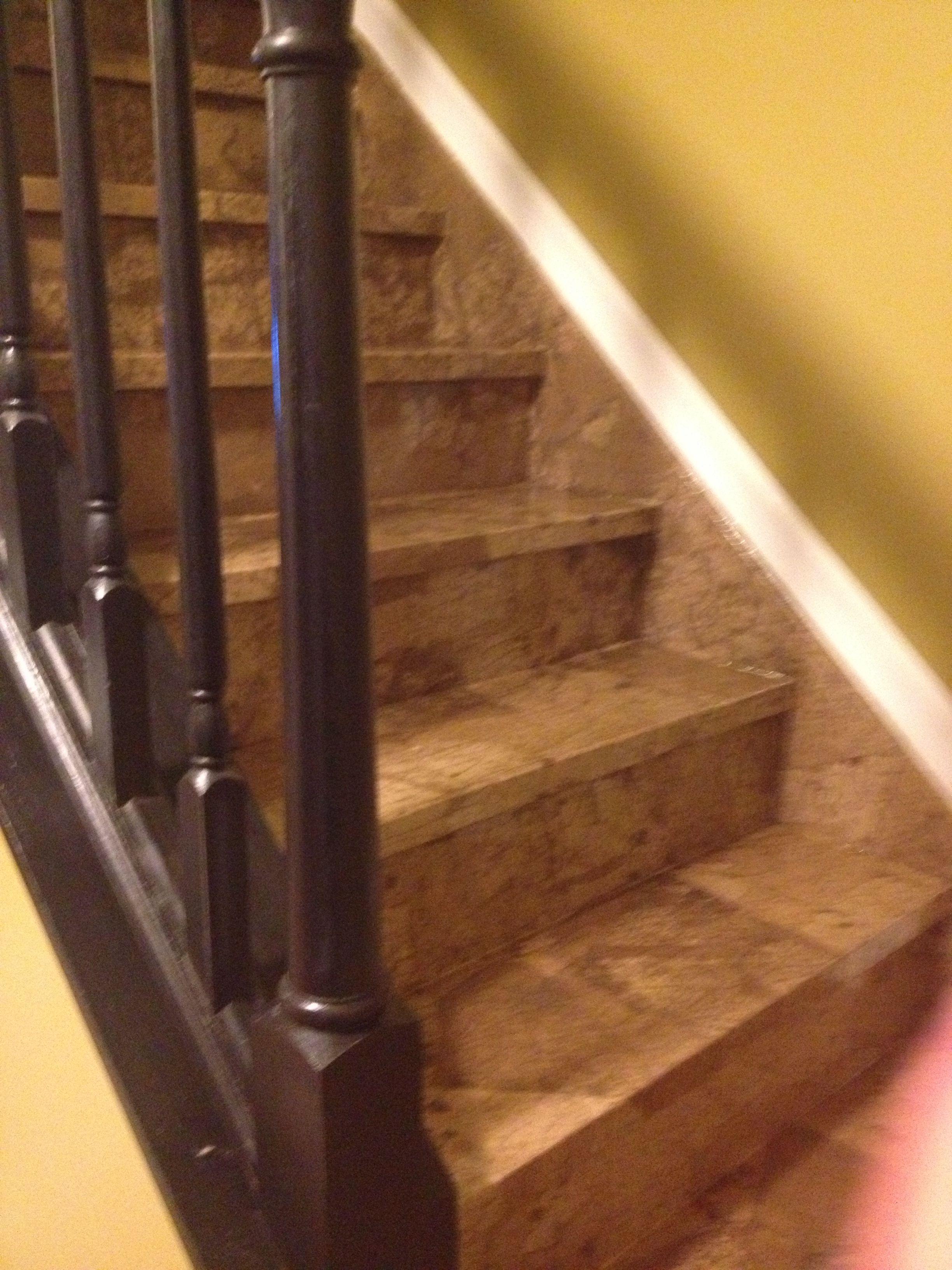 Brown Paper Bag Stairs