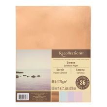 Serene Cardstock Paper By Recollections 8 5 X 11 Card Stock