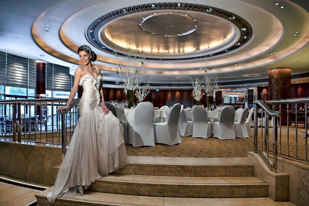 Stunning circular wedding reception area Venues