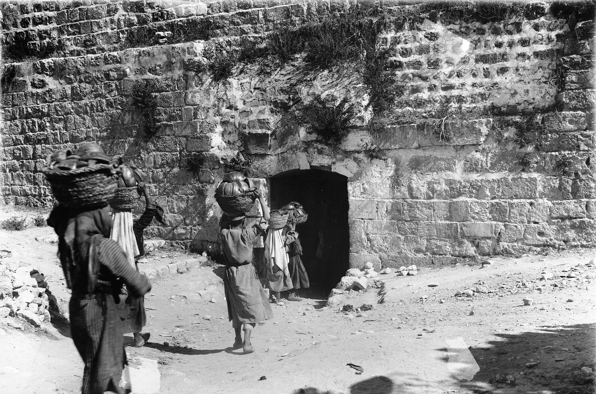 Jerusalem Dung Gate, before 1952 - Wikipedia