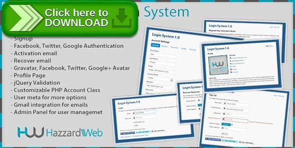 Free Nulled Account System MultiFeature Download