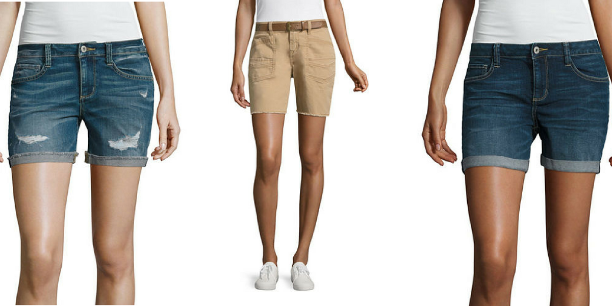 JCPenney: Junior Shorts $11.25! (Reg. Up To $46.00) http://heresyoursavings.com/jcpenney-junior-shorts-11-25-reg-46-00/