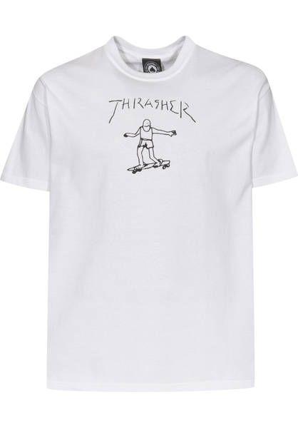 e4302cf0 Thrasher Gonz T-Shirt white   Titus Onlineshop   CLOSET   Thrasher ...