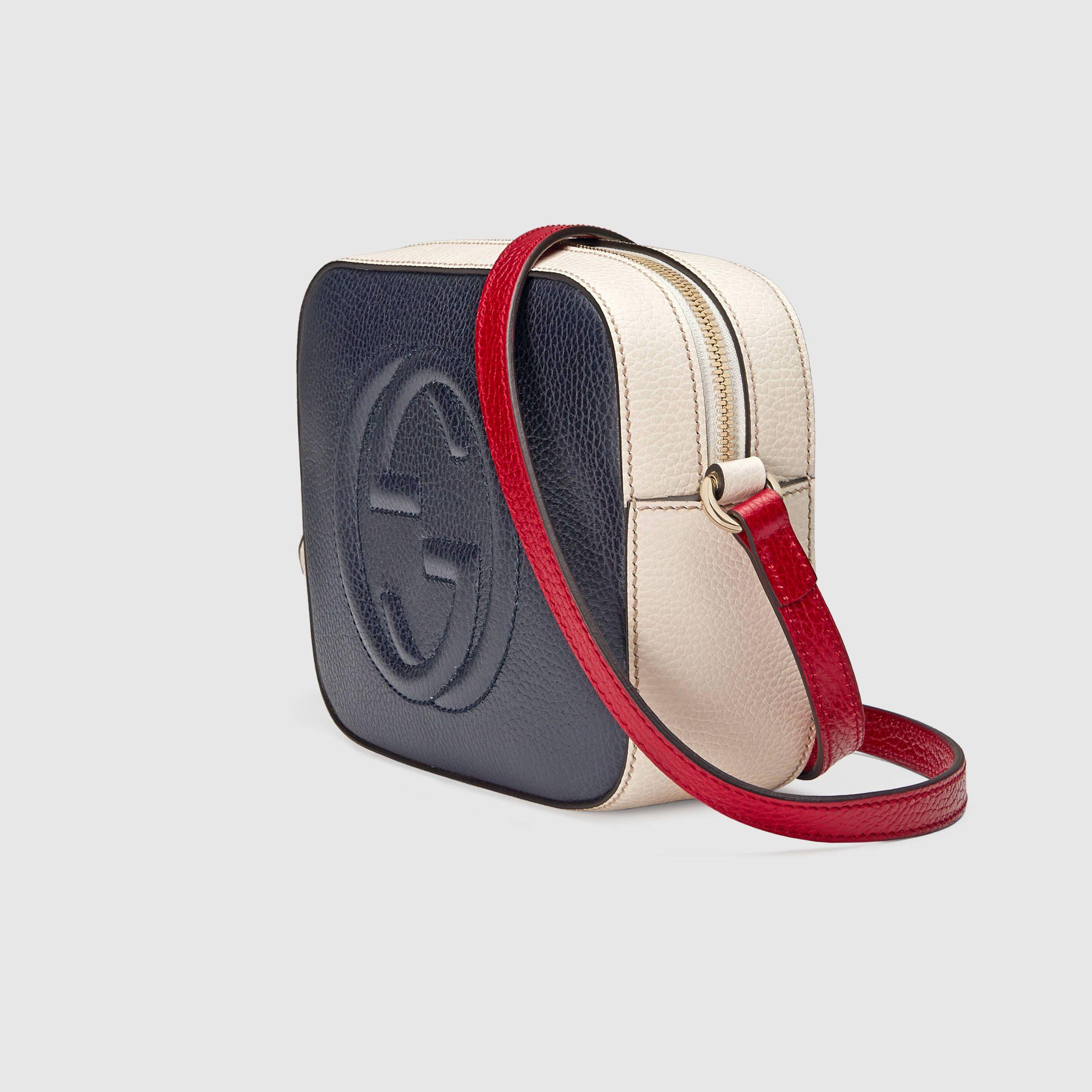 $980 GUCCI Soho leather shoulder bag