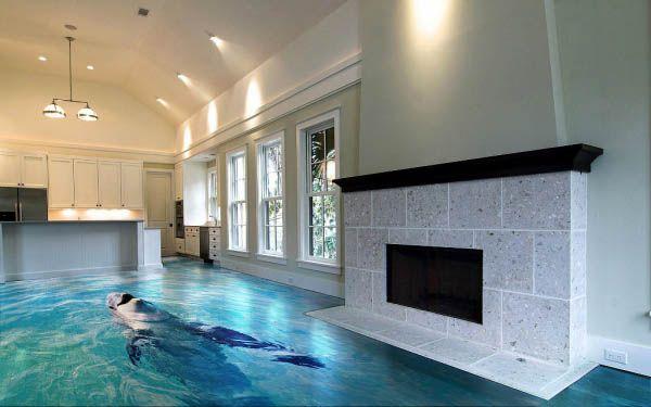 Amazing 3d Floor Tiles Turn Your Home Into Another World Floor