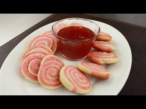 Galletas espiral frutilla | delicias.tv