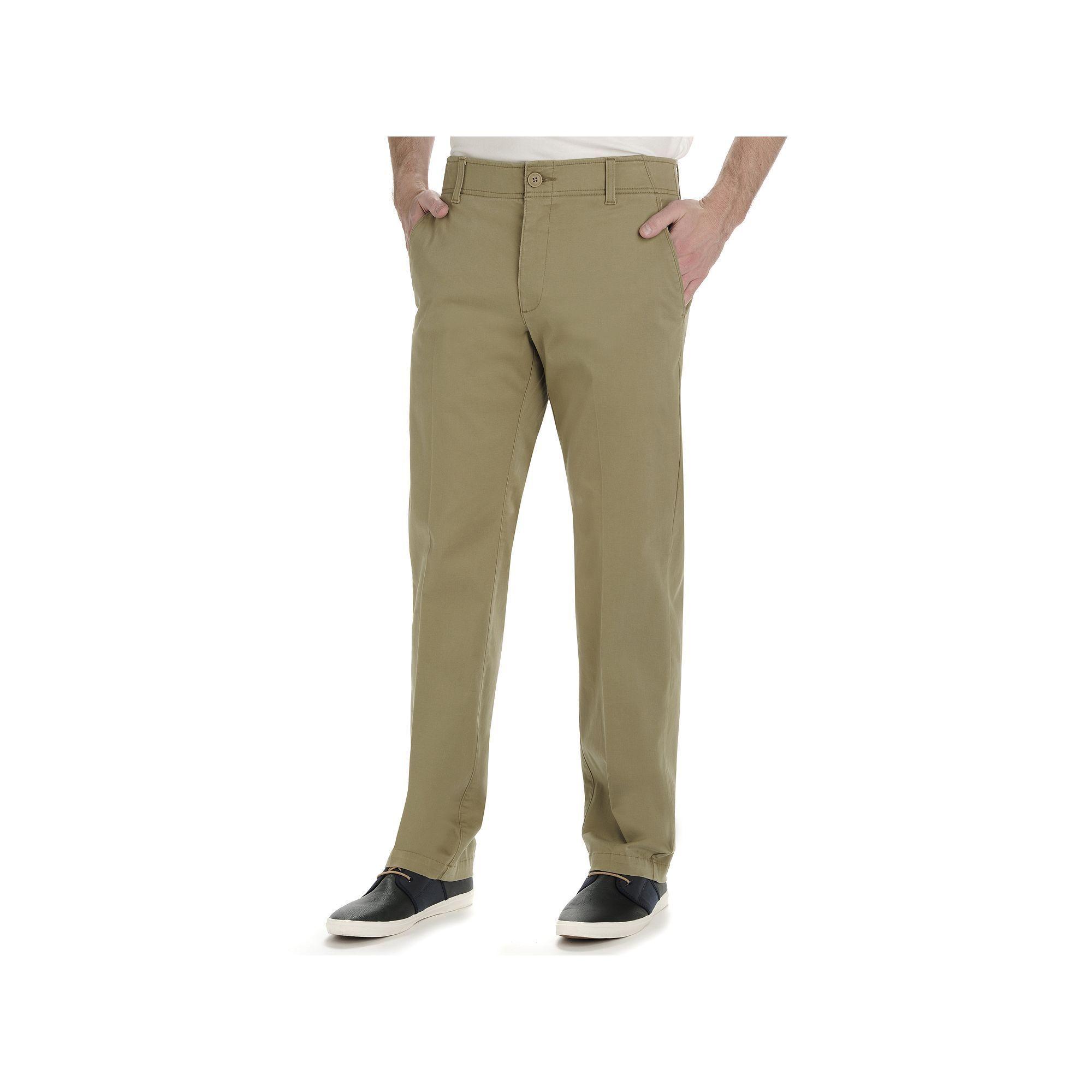 Men S Lee Performance Series Extreme Comfort Khaki Straight Fit