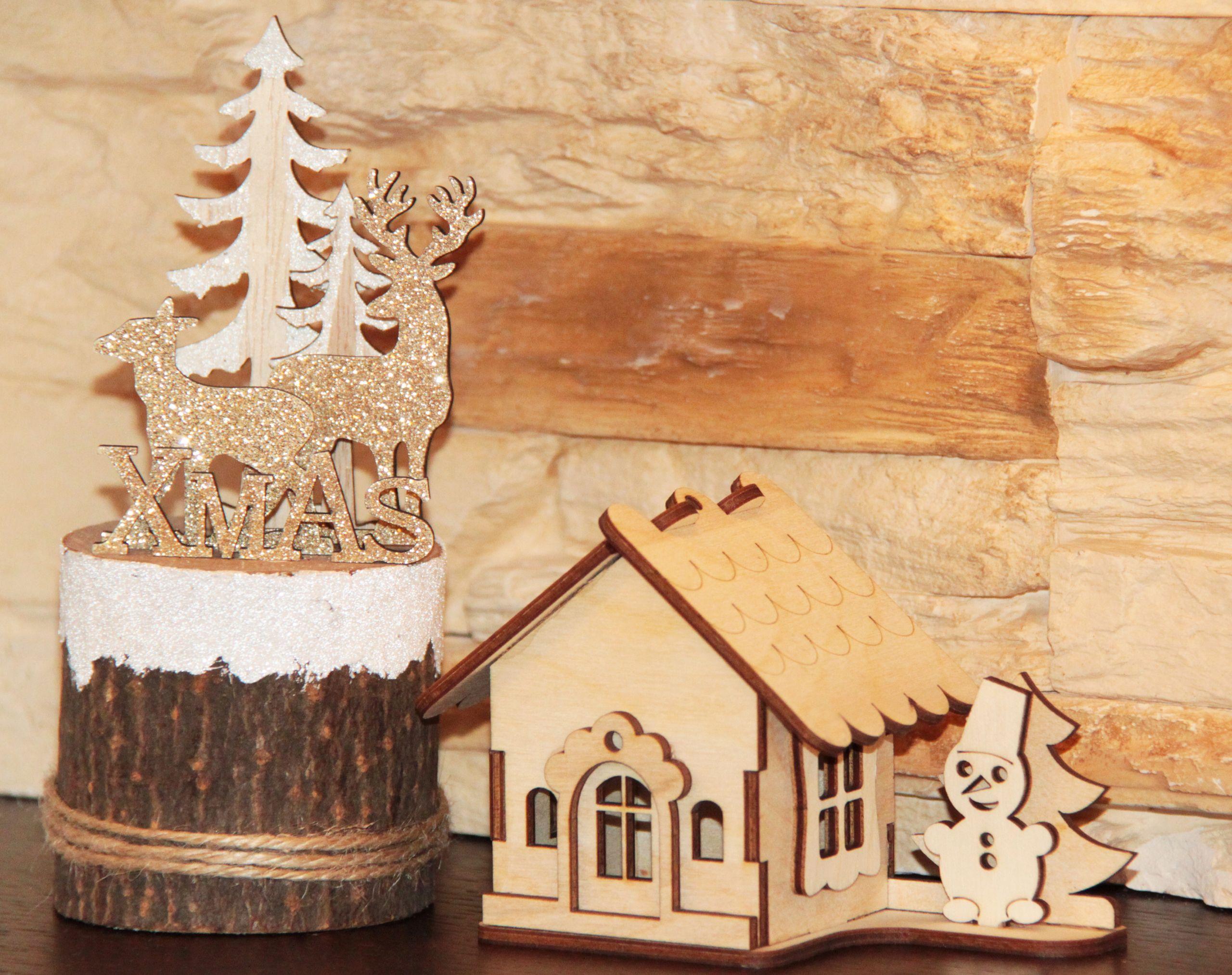 Drewniane Dekoracje Na Boze Narodzenie Gingerbread House Gingerbread Desserts