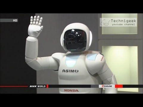 Asimo Smartest Robot In The World 2013 اسيمو اذكى رجل الي في العالم Honda Corporation Have Revealed Its Latest Rev Smart Robot R Robot Futuristic Technology