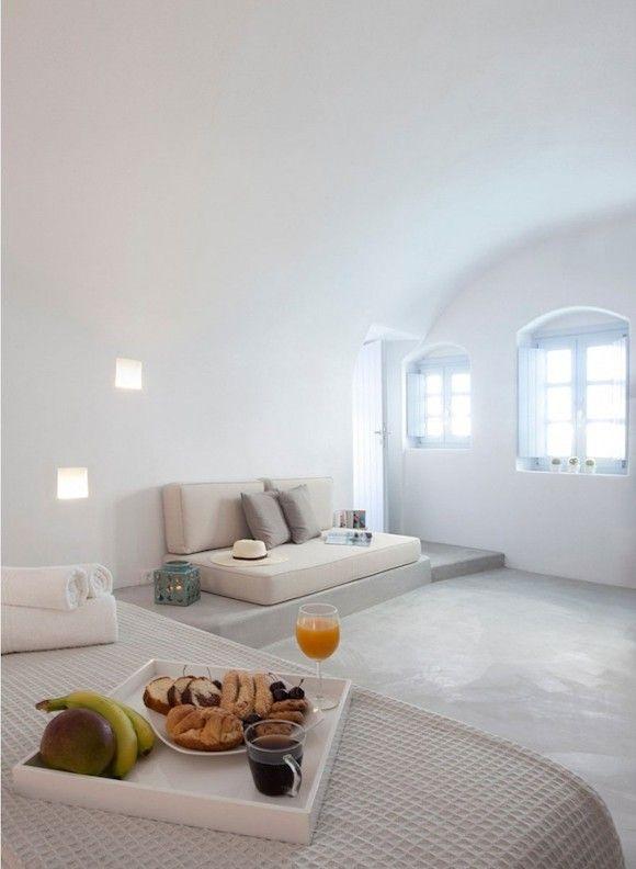 Wohnung einrichten Ideen mit weiße Farbe - Weiße Villa | doDEKO.de