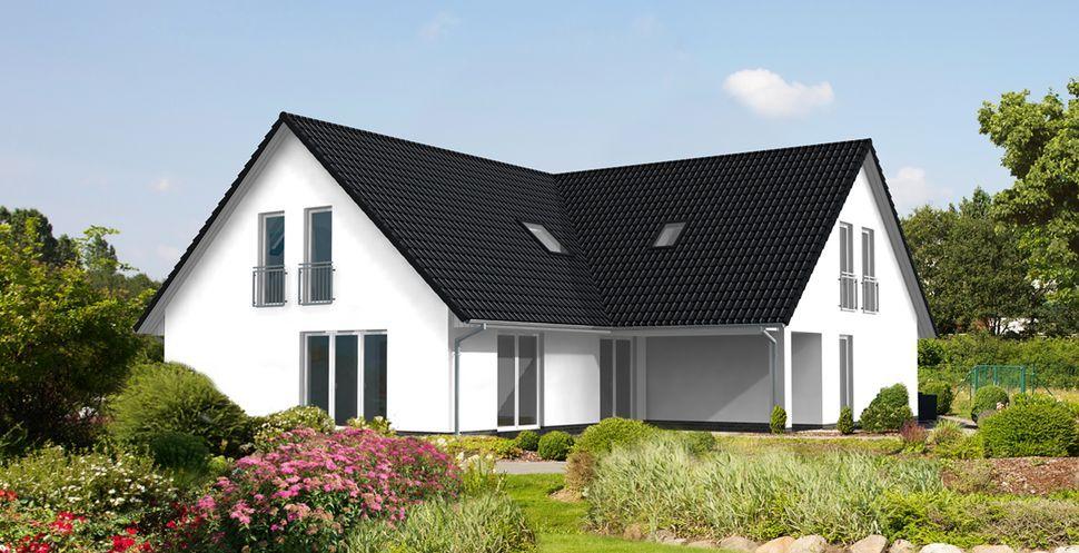 Schlüsselfertiges Massivhaus Spektralhaus: Zweifamilienhäuser: Maxime 520 Z