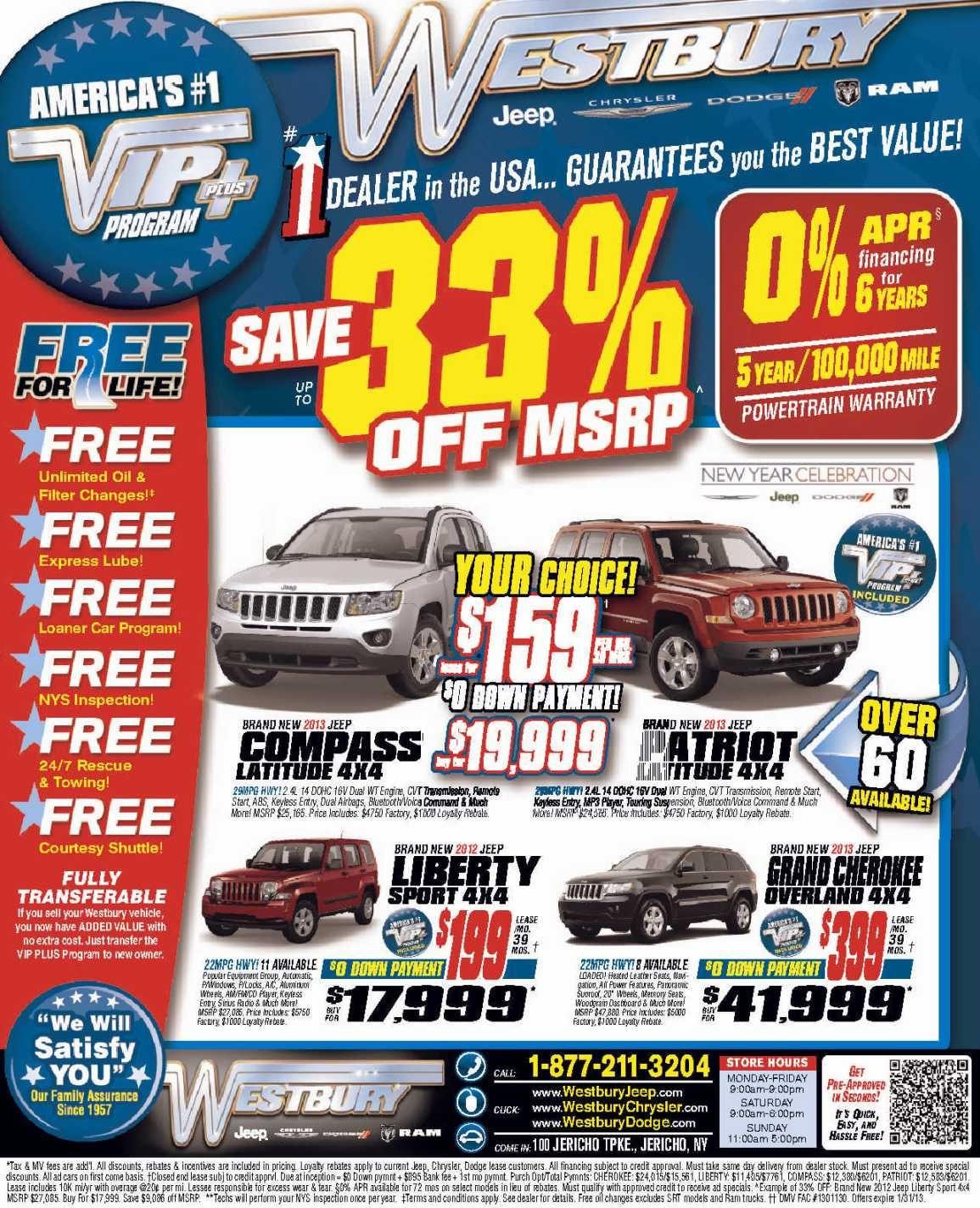 Long Island Jeep Lease Sale Long Island Jeep Dealer January 2013 2 Www.