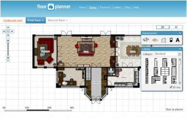 10 Best Free Online Virtual Room Programs And Tools Floor Planner Free Interior Design Room Planner